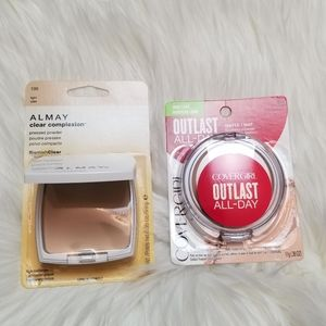 Other - Almay and Cover Girl Pressed Powders in Light